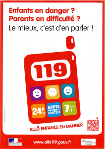 119 enfance en danger