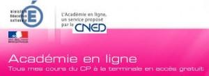 cned académie en ligne
