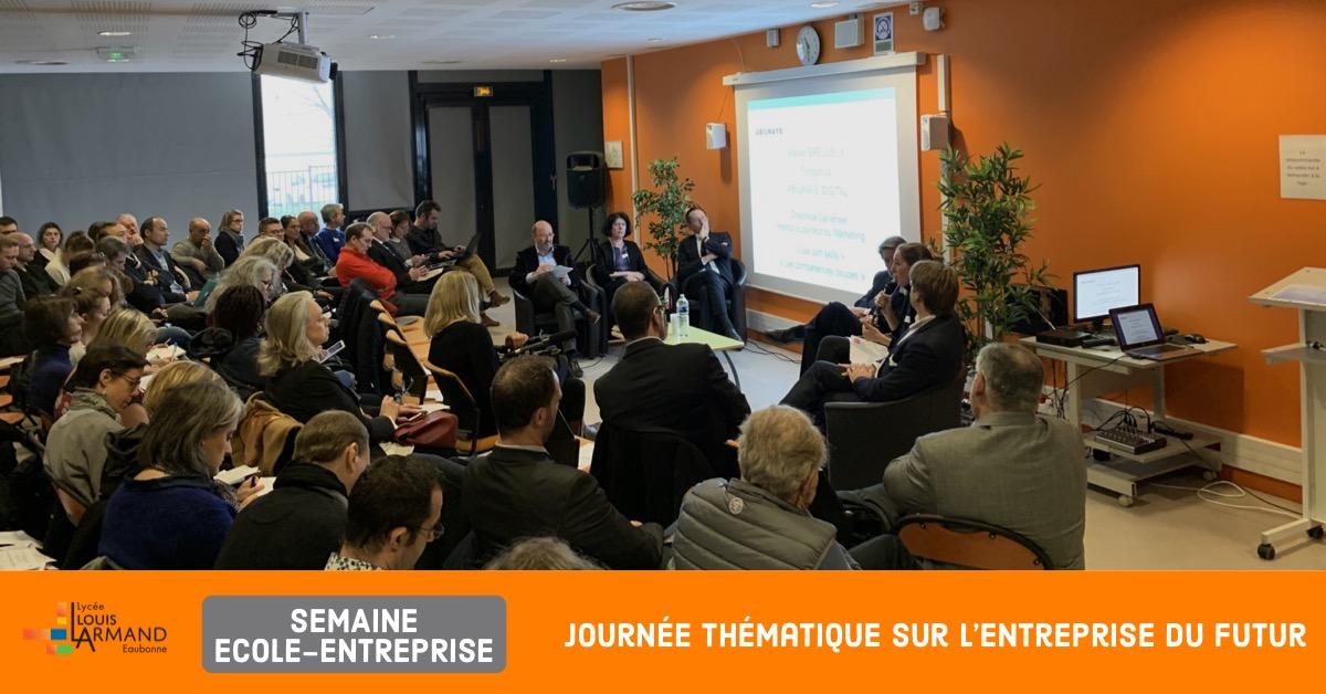 Semaine Ecole-Entreprise 2018