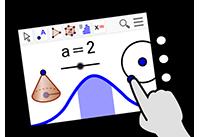 Activité Poisson avec Geogebra sur iPad