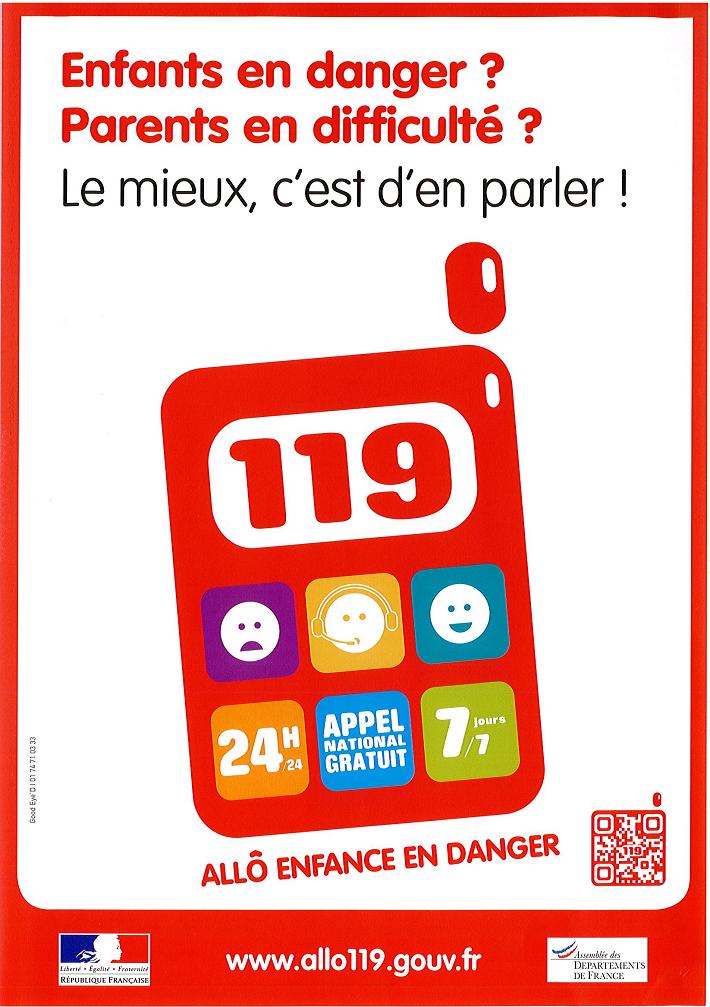 119- Allo Enfance en danger