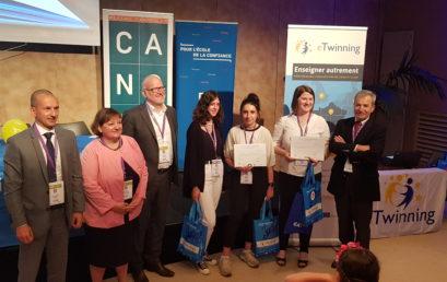 Cérémonie de remise du prix national d'eTwinning