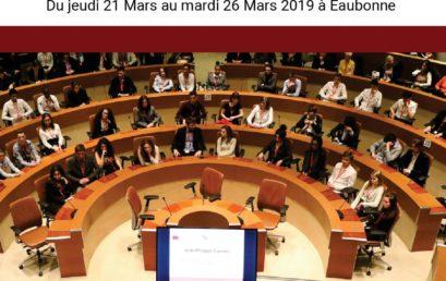 46ème Session Nationale Parlement Européen des Jeunes – France