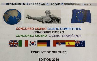 Concours international CICERO