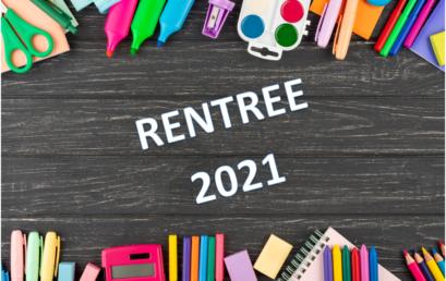 RENTREE 2021 PLANNING + CLASSES